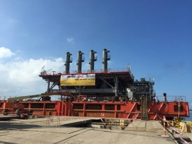 ALE has completed the final module load-out in Thailand for the Ichthys LNG project's onshore facilities.