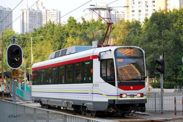 A tram system like Hong Kong's Light Rail Transit (above) has been under discussion for the island province for three and a half years. (Photo courtesy The Phuket News)