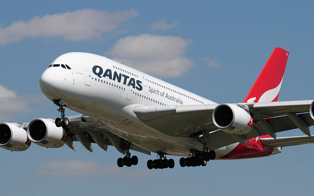 Qantas was named the world's safest airline for the third year in a row