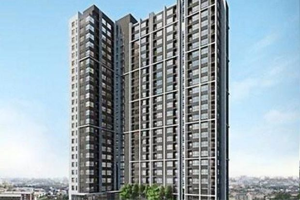 Base Park East is a freehold condominium block with 27 floors within a mixed development project comprising other residential tower blocks and a community shopping centre.