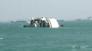 Chinese cruise ship sinks off Laem Chabang port3