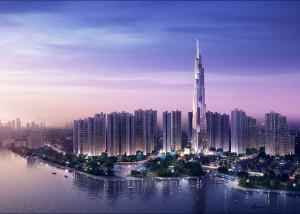 Atkins starts building Vietnam's tallest skyscraper in Ho Chi Minh City