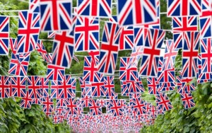 union flag bunting Feeling a strong connection to your adopted country rather than the one you left behind is an important step