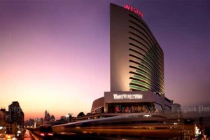 The Westin Grande Sukhumvit Hotel, a five-star hotel in central Bangkok, is one of four hotels owned by Grand Asset Hotels & Property.