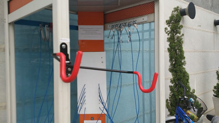 Tot Is Turning Phone Booths Around Thailand Into Bike Repair Pit Stops