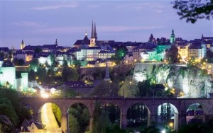 Luxembourg world's safest city Peace of mind: Luxembourg offers the world's safest haven, according to new research Credit: Alamy