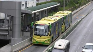 Bus Rapid Transit (BRT) system proposed in Phaholyothin transportation center