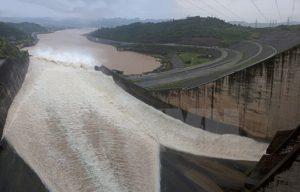 Hoa Binh Hydropower Plant.