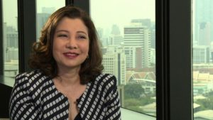 Chadatip Chutrakul says historically Thailand has treated women and men equally