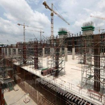 The new parliament building is 11 months late, billions over budget, likely to be at least two more years late - and is just 24% complete.