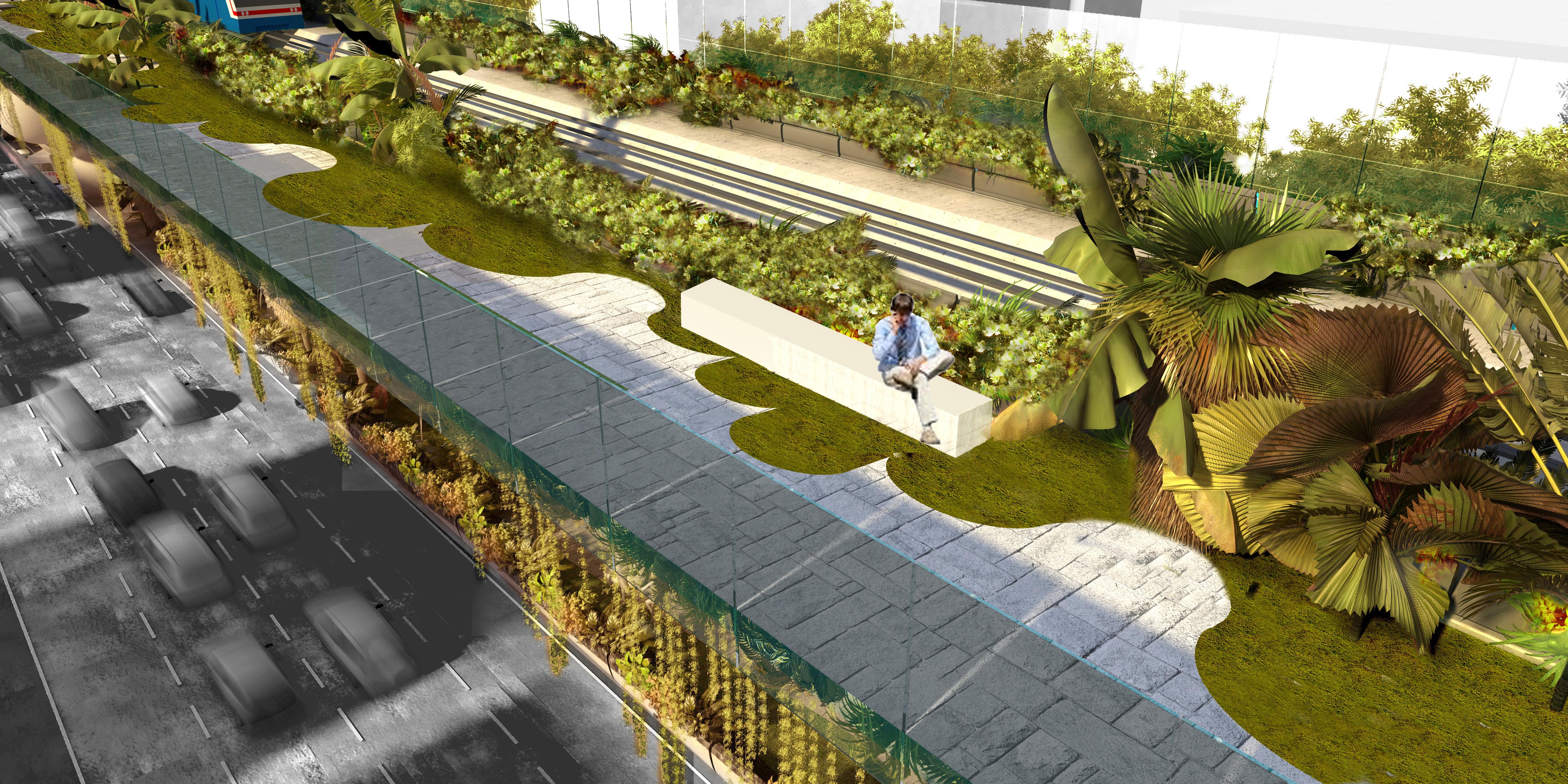 The bangkok skyride and skypark for Local landscape designers