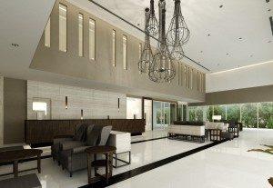 The lobby at Kameo Hotel Amata Bangpakong